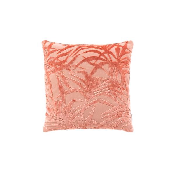 Cojín miami palm tree rosa