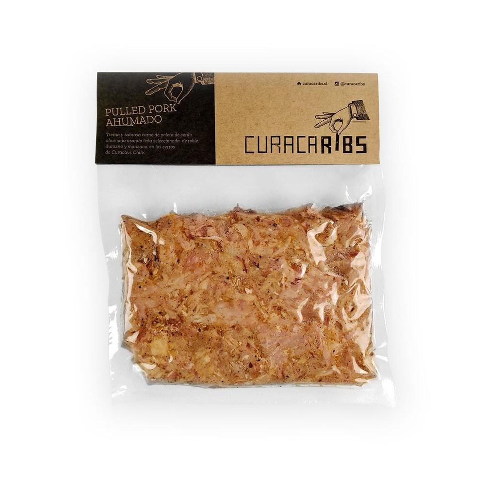 Pulled Pork Ahumado Curacaribs 500 gr