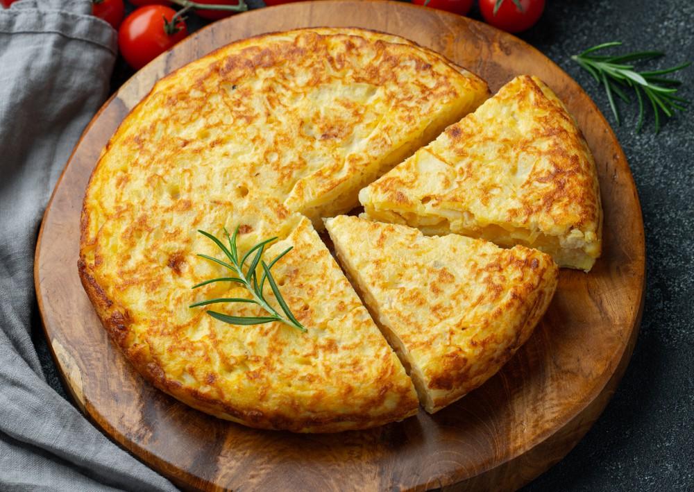 Tortilla española 300 grs