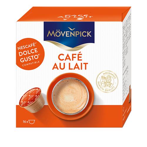 Café en cápsulas au lait para dolce gusto*