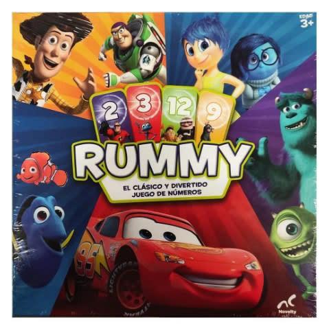 Disney pixar juego rummy