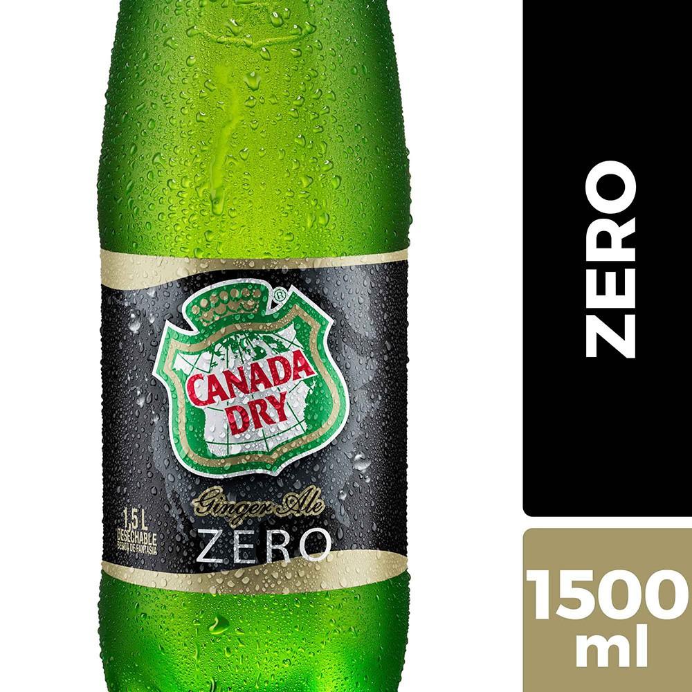 Bebida ginger ale zero
