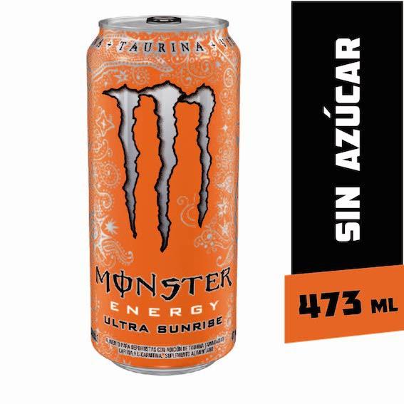 Bebida energizante ultra sunrise