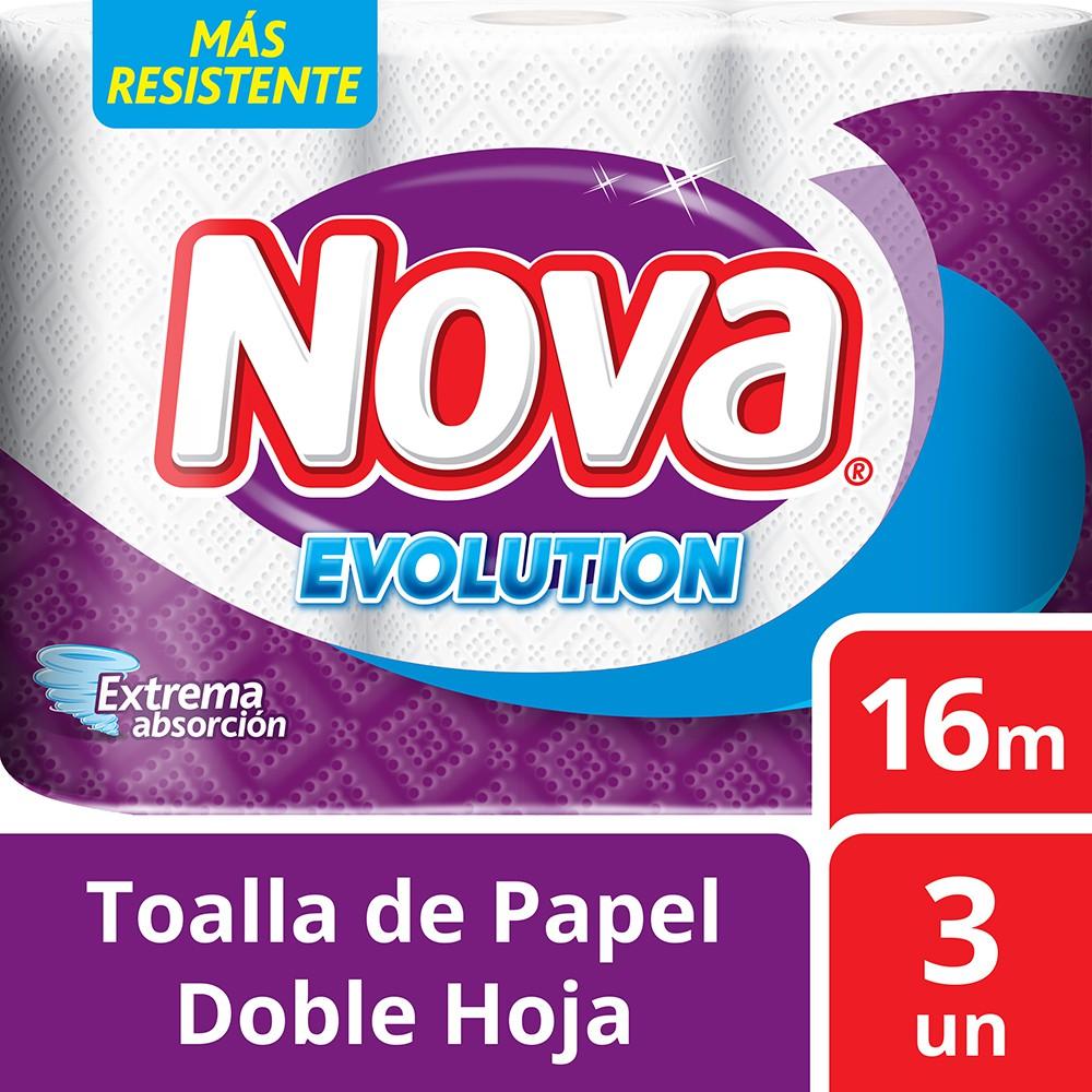Toalla de papel Evolution doble hoja