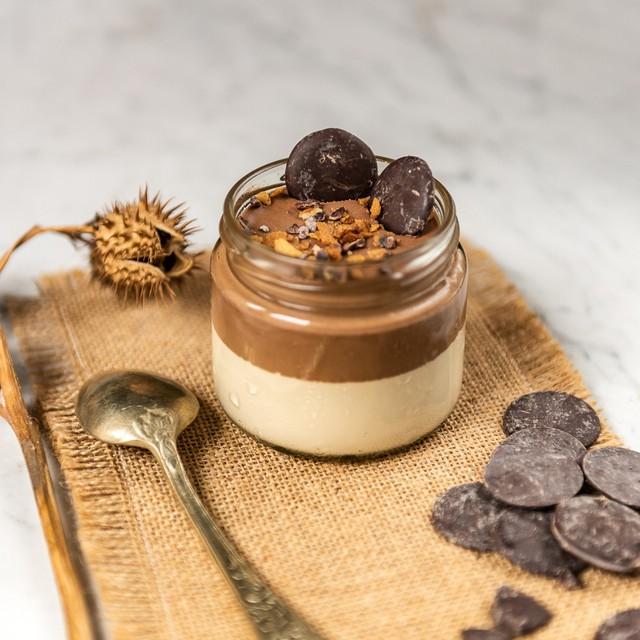 Chocolate bitter, avellana y caramelo 130 gramos