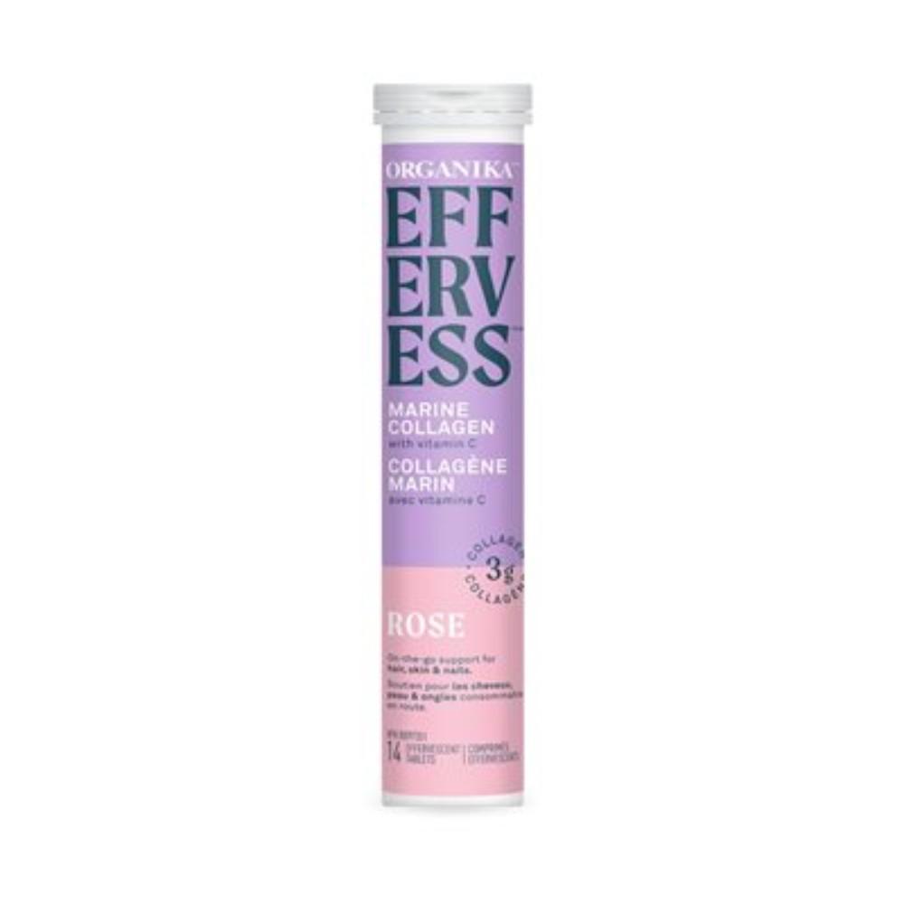 Effervess marine collagen rose tablets