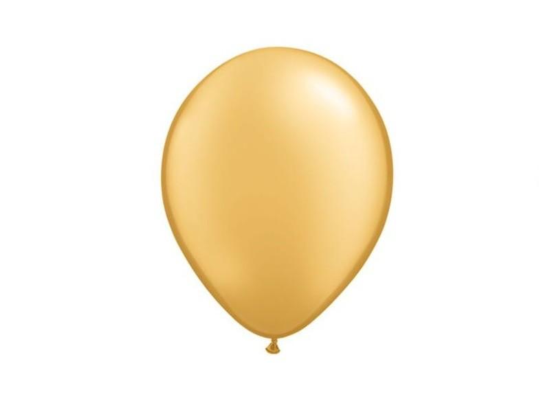 Globos metalico dorado nº9 x 25 25 unid