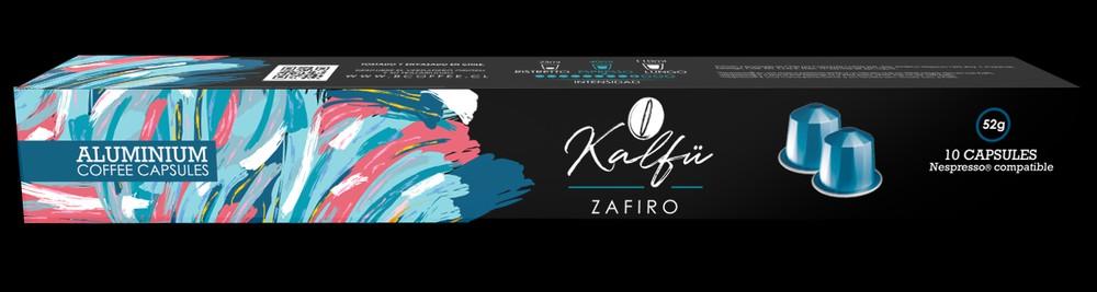 10 cápsulas de café sabor Zafiro 10 cápsulas de café Nespresso Compatibles