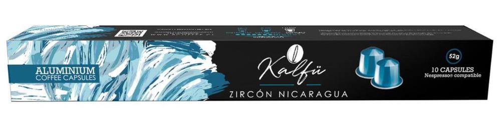 10 cápsulas de café sabor Zircón Nicaragua