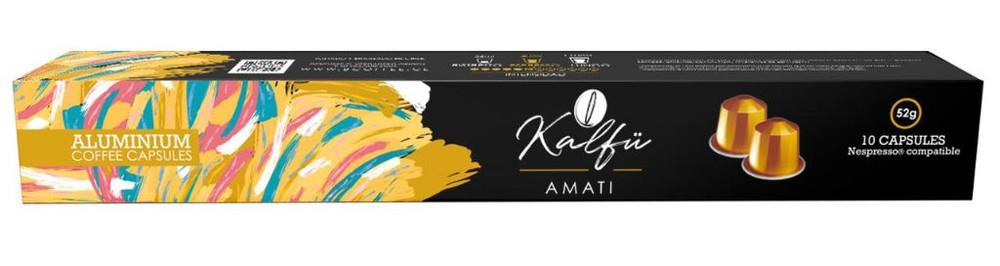 10 cápsulas de café sabor Amati