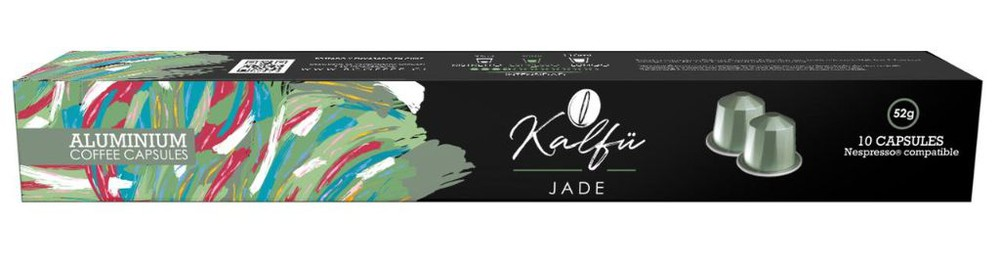 10 cápsulas de café sabor Jade