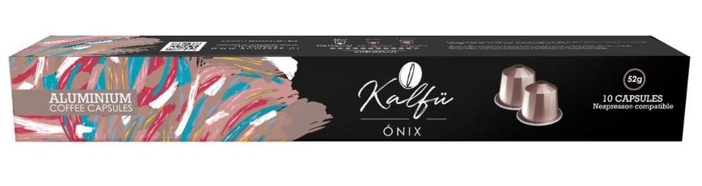 10 cápsulas de café sabor Onix