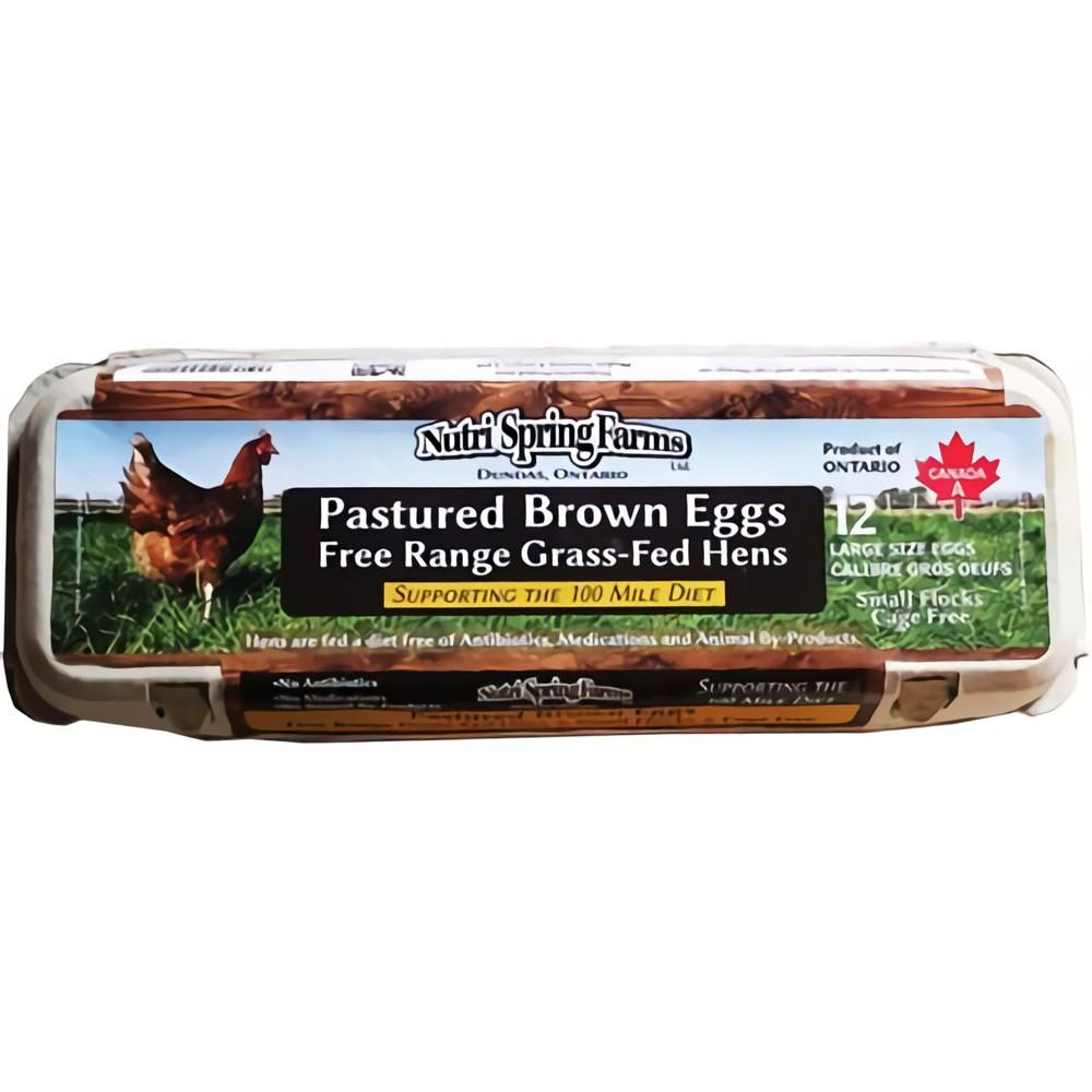 Pastured brown eggs L 12 unit