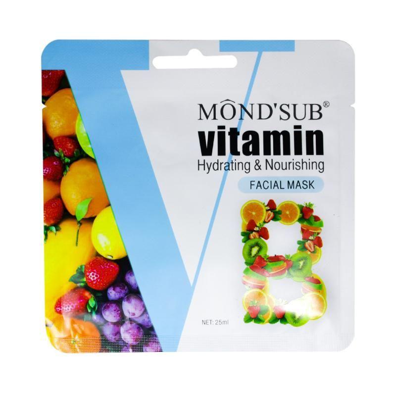 Mascarilla facial Mond'Sub Vitamina B 25 ml