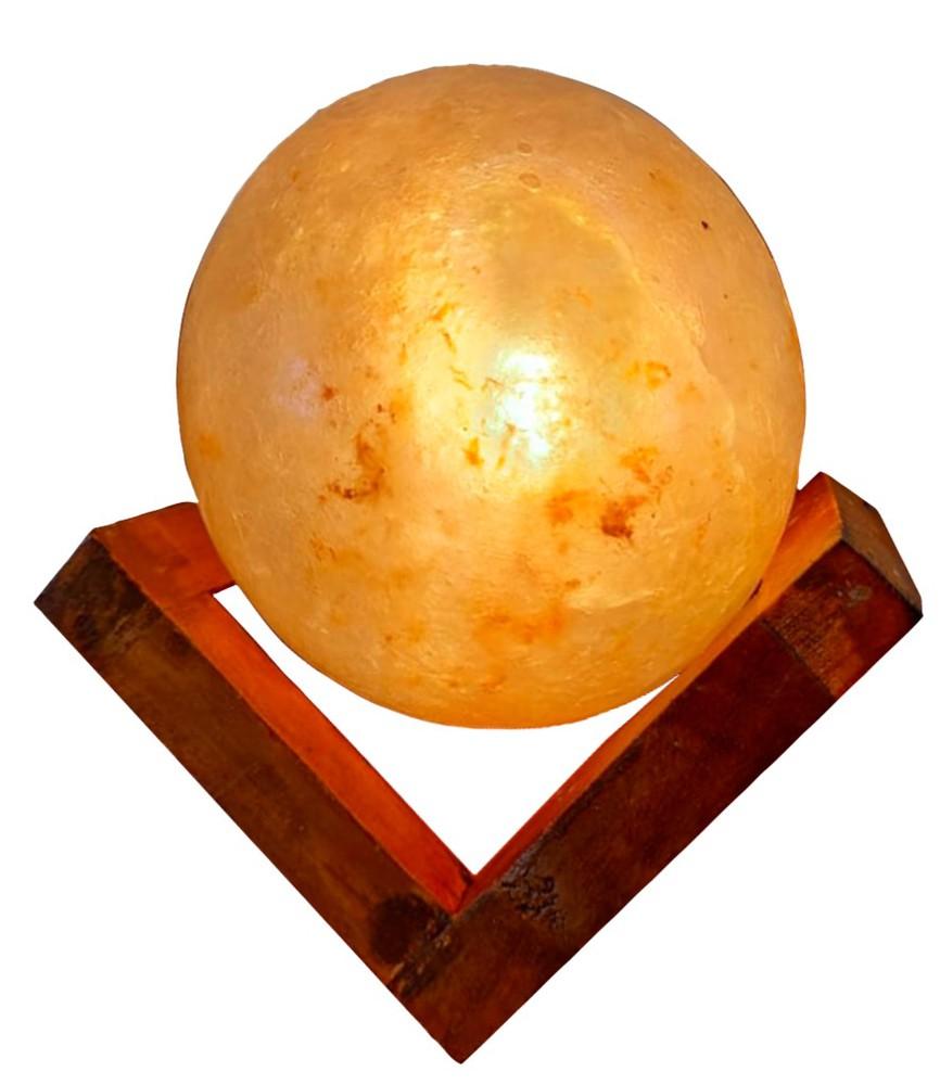 Lámpara sal moon 15 x 12 x 12 cms