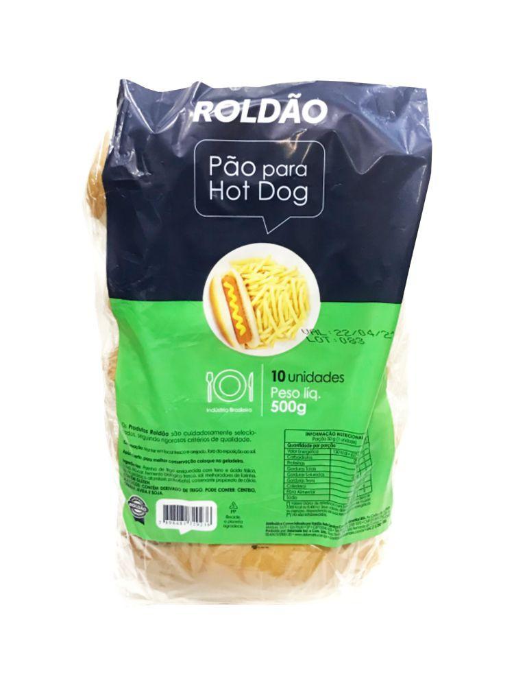 Pão para hot dog