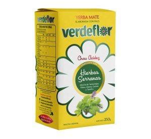 Yerba mate verdeflor  hierbas serranas Stock 6 unidades Bolsa de 500 gr