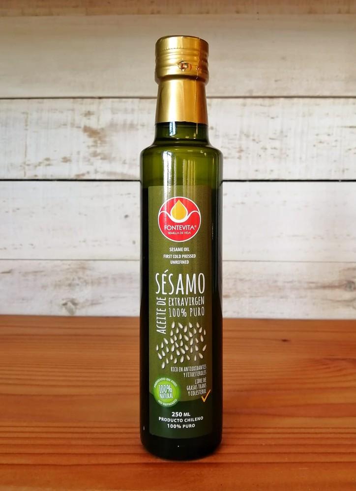 Aceite de sesamo Stock 6 unidades Botella 250 ml