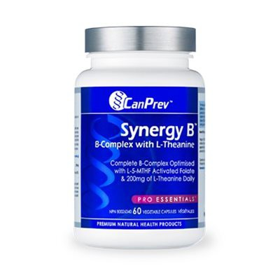 Synergy-b Complex W/l-thanine 60 Vegicap
