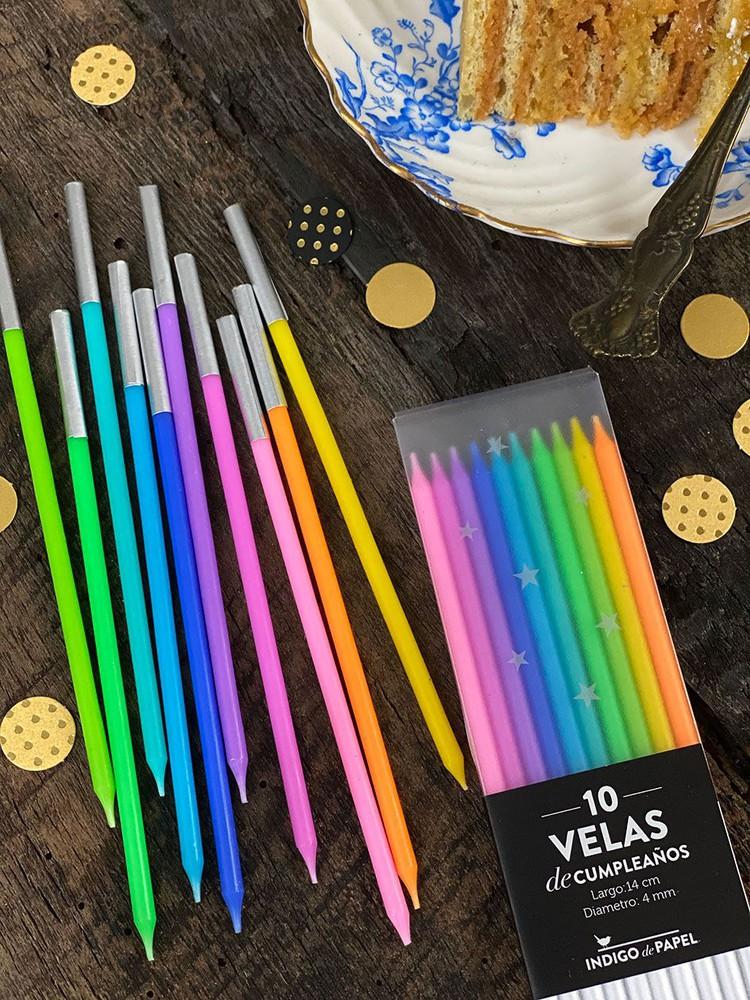 Set de Velas  · Multicolores