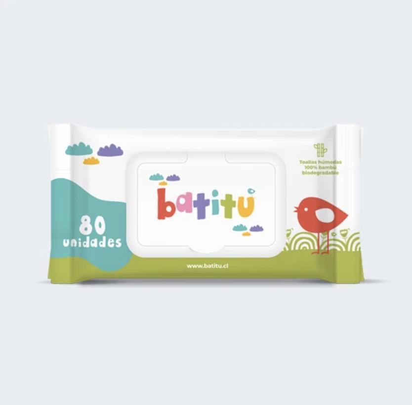 Toallitas húmedas para bebé 80 unidades