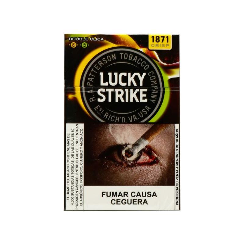 Cigarrillos lucky strike twins 20 un