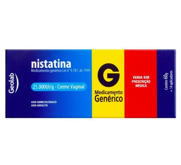 Nistatina creme + 14 aplicadores
