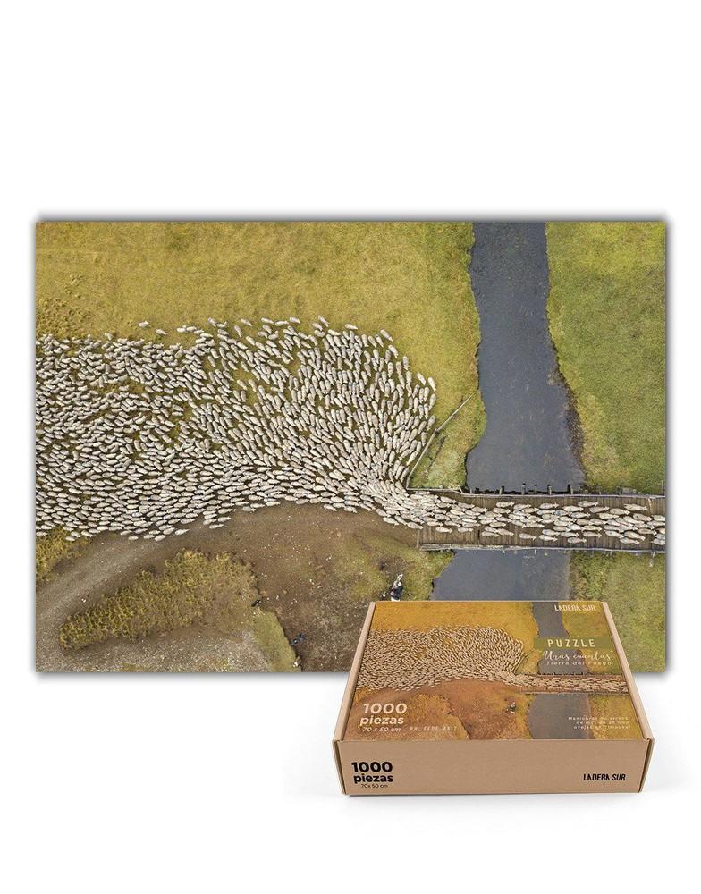 """Puzzle """"unas cuantas"""" (tierra del fuego) - 1.000 piezas"""