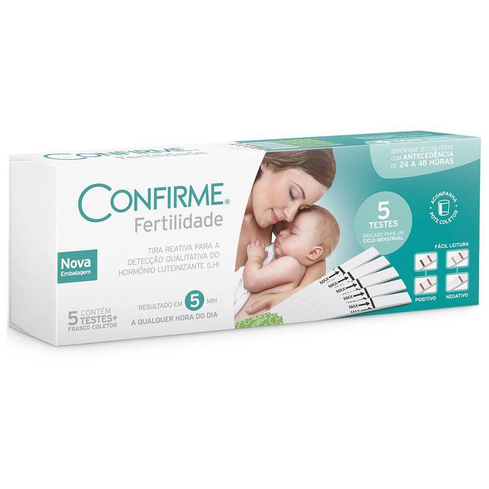 Confirme teste de fertilidade feminina