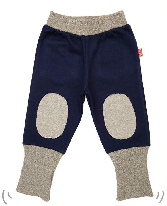 Keeper rodillera azul francia y gris jaspeado 4-6 años