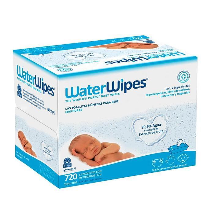Toallitas húmedas waterwipes mega value pack 720 TOALLITAS