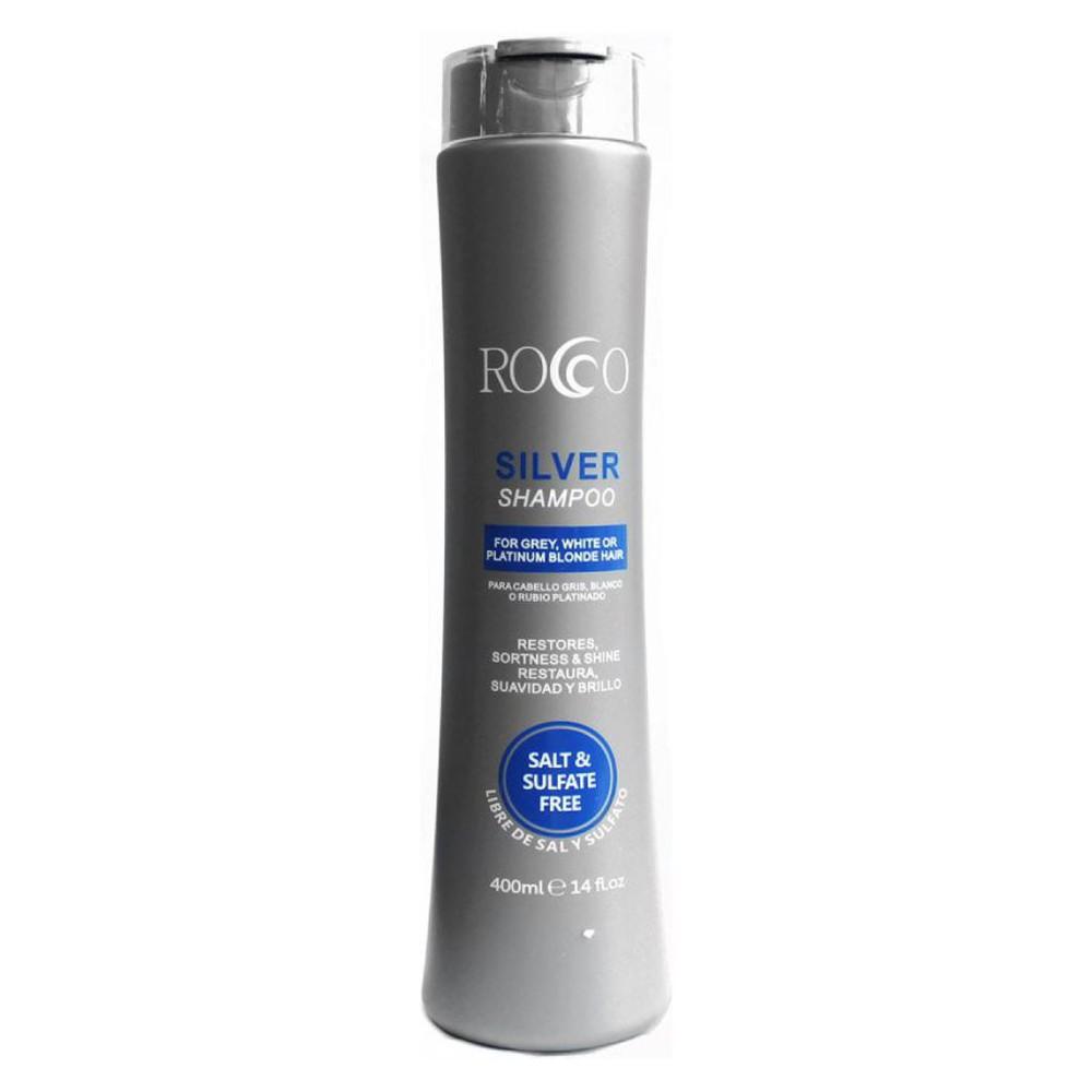 Shampoo silver para cabello gris, blanco o rubio platinado 400ml