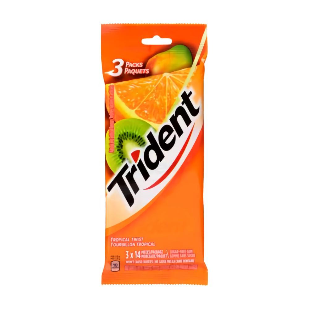 Tropical twist gum
