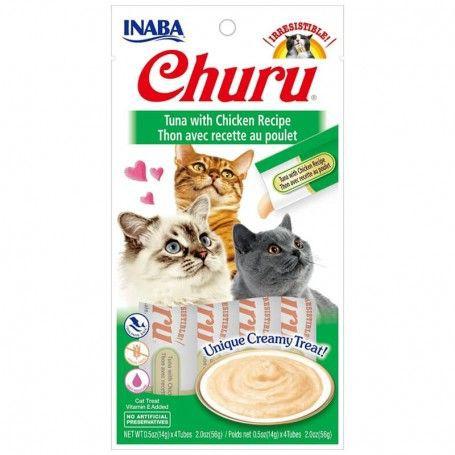 Churu sabor atun con pollo Churu 4 tubos