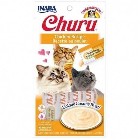Churu sabor pollo Churu 4 tubos