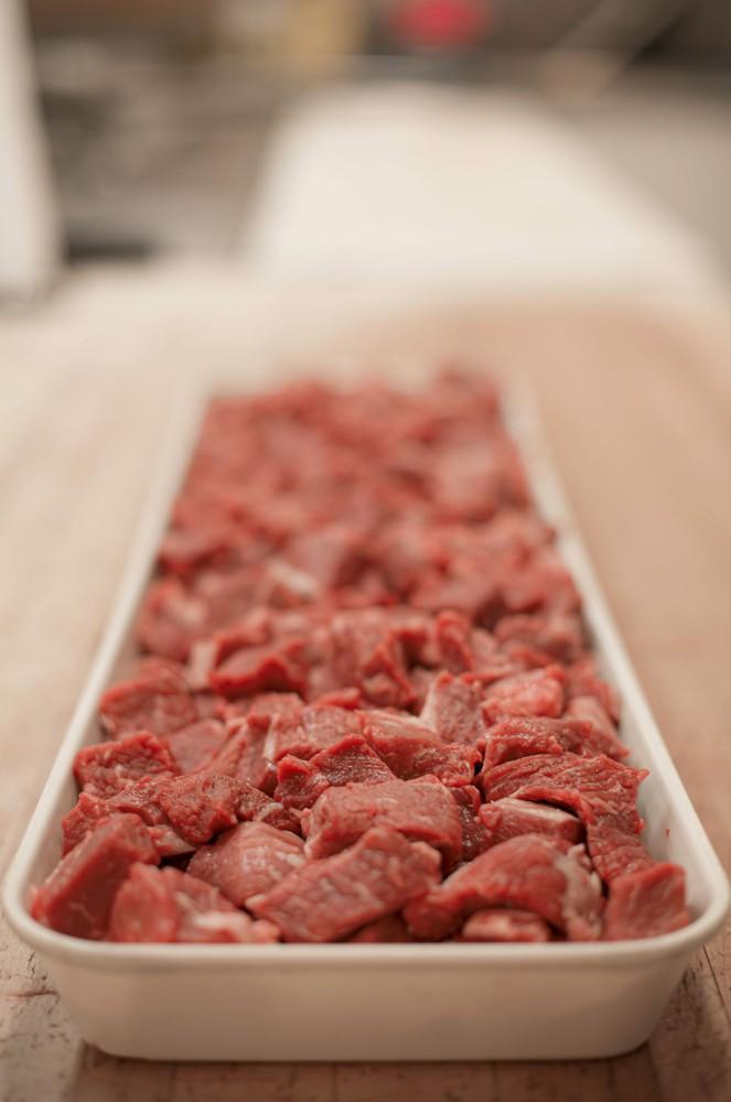 Beef stew lean