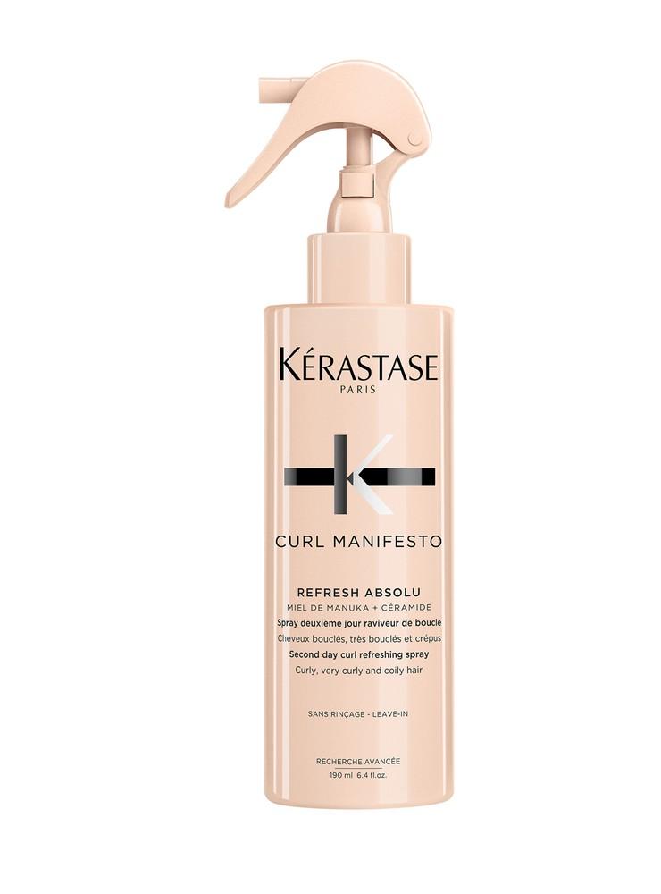 Spray cabello rizado  curl manifesto refresh absolu Aerosol 190 ml