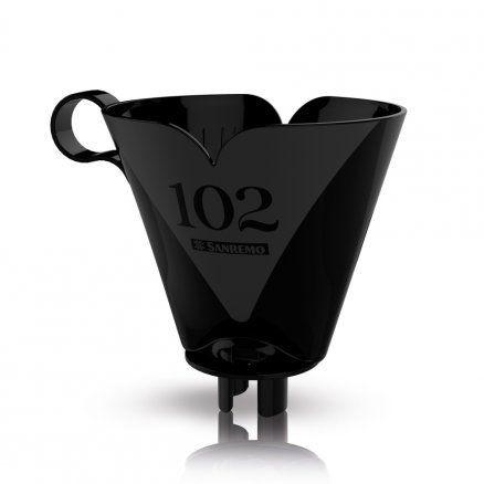 Suporte para filtro de café 102 preto