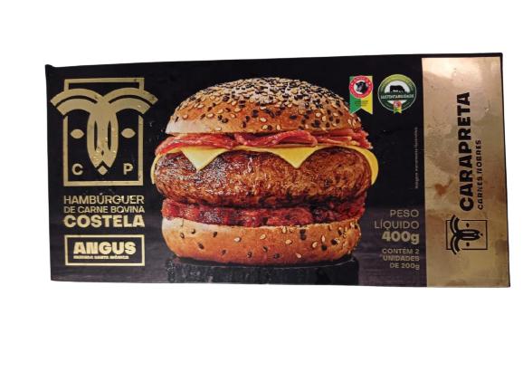 Hambúrguer de costela 400g