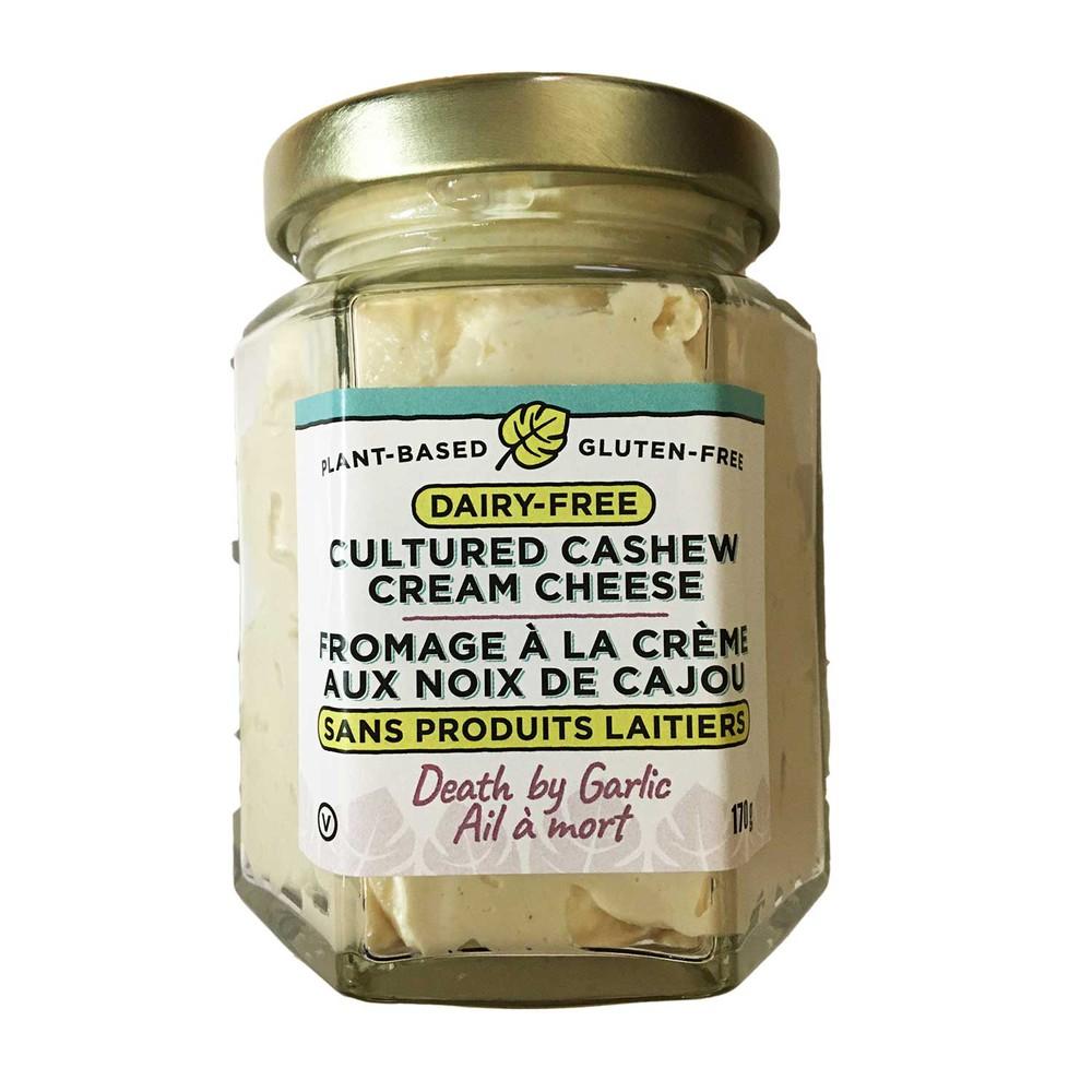 Death by garlic cream cheese