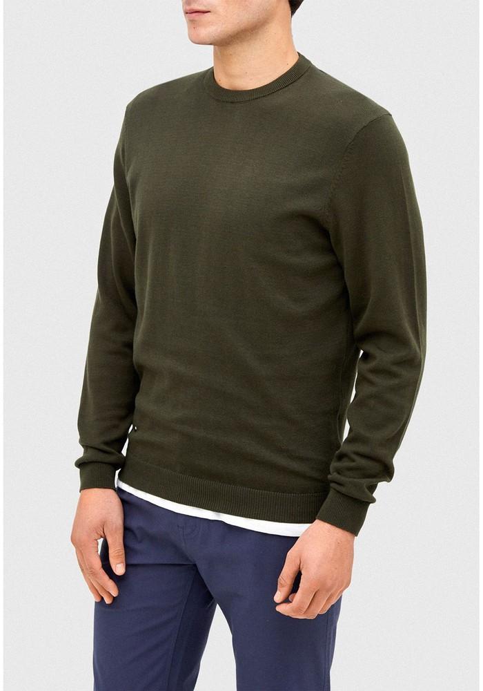 Sweater verde oscuro