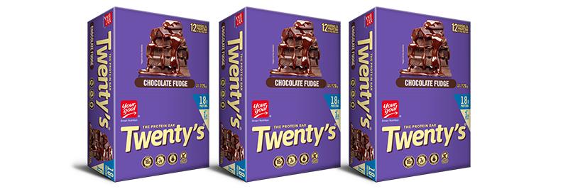 Pack 36 chocolate fudge
