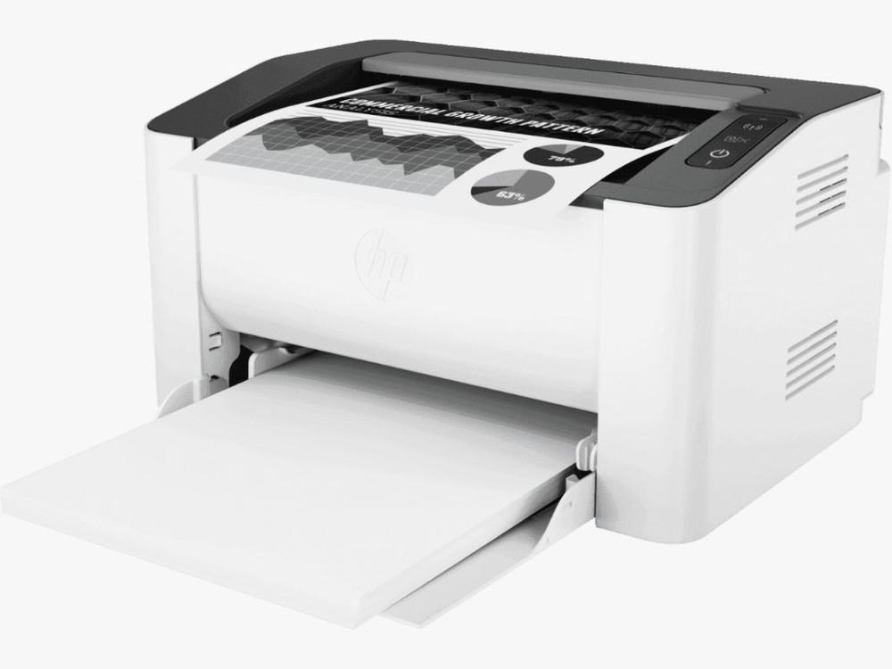 Impresora inalámbrica laser 107w caja de 5,4 Kg.