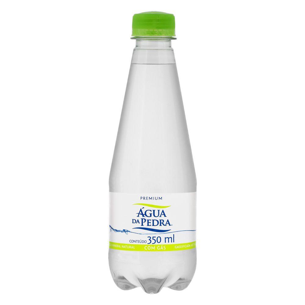 Água mineral com gás premium