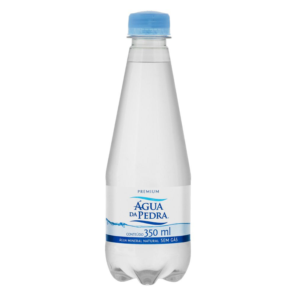 Água mineral sem gás premium