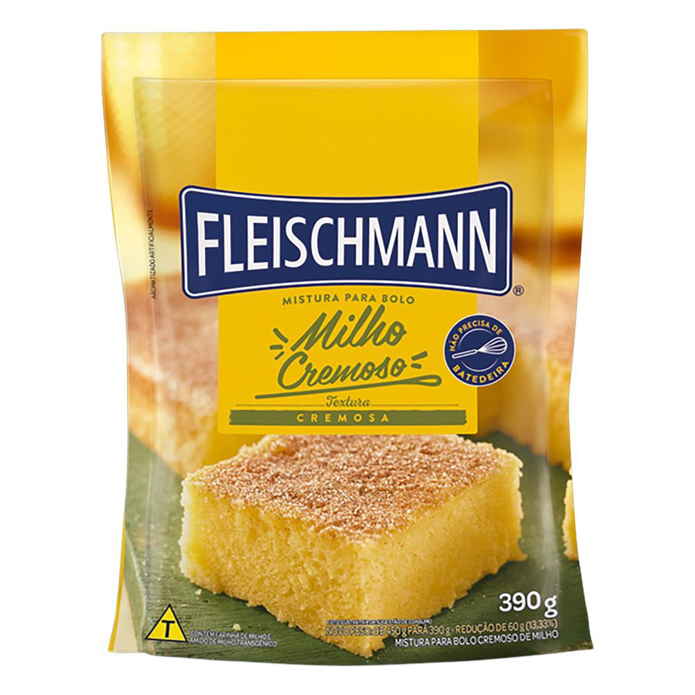 Mistura para bolo de milho cremoso