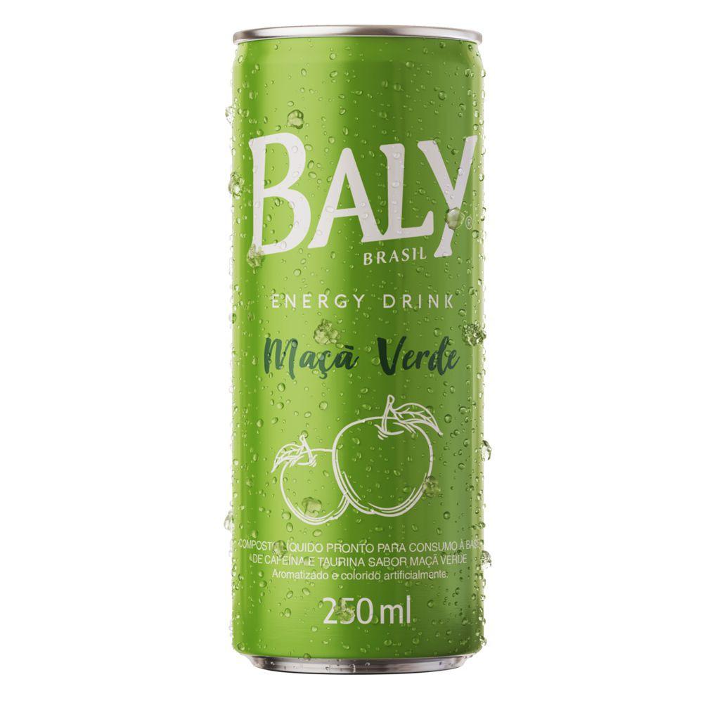 Energético de maçã verde