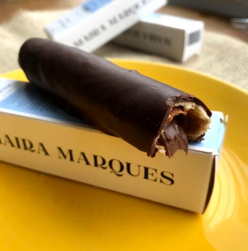 Canudo de Nutella meio amargo