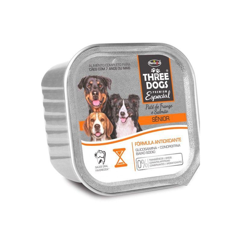Three dogs senior 7+ 150 gramos
