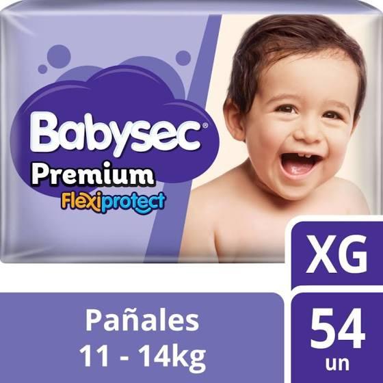 Pañal babysec premium xg